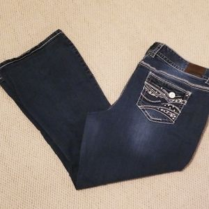 Maurice's Stretch Boot Cut Jeans Size 22 Short